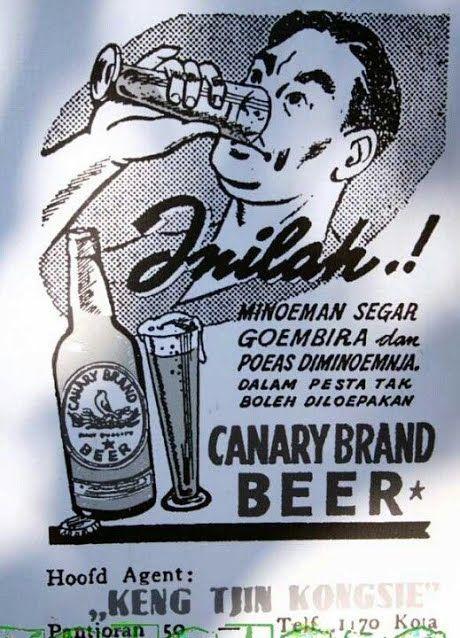minuman beralkohol iklan produk dan propaganda jaman dulu bali huts vintage ads old commercials