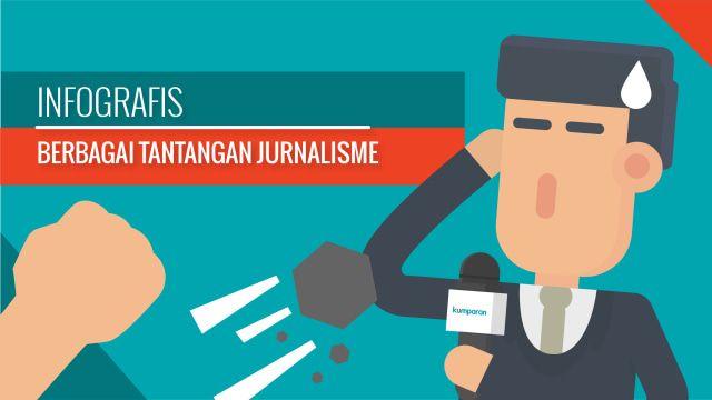 infografis tantangan jurnalisme makin beragam