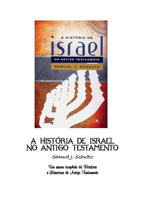 Poster isra Mi'raj Bermanfaat Pdf A Historia De israel No Antigo Testamento Silvano souza