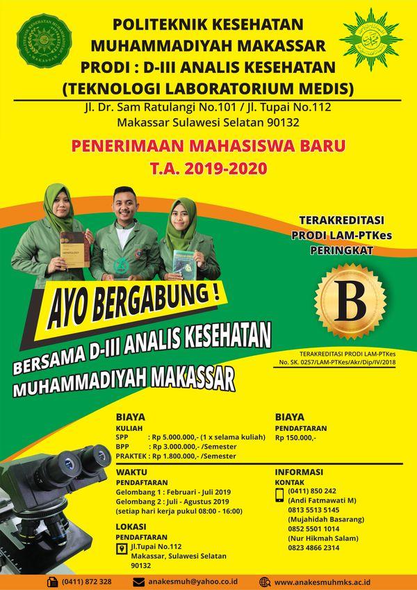 Poster Jalan Sehat Penting Program Studi Teknologi Laboratorium Medik