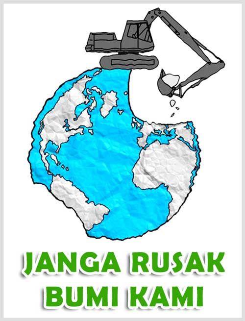 Poster Kebersihan Lingkungan Lucu Bernilai 50 Contoh Poster Slogan Lingkungan Hidup Go Green Grafis Media