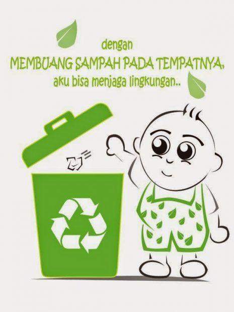 Jom Download Poster Kebersihan Lingkungan Sekolah Yang ...