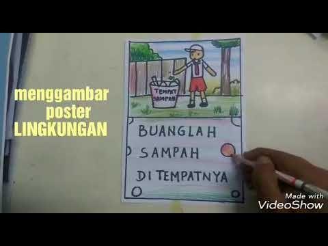poster lingkungan sekolah berguna poster lingkungan