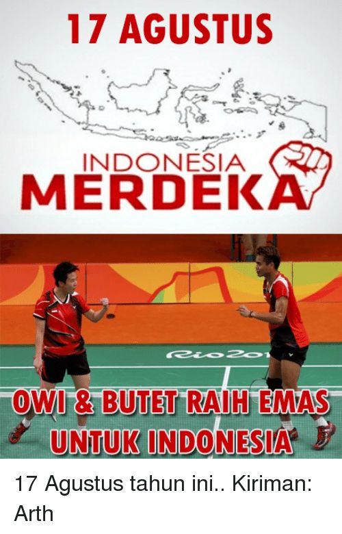 Poster Kemerdekaan 17 Agustus Terhebat 17 Agustus Indonesia Merdek tow13 butet Raih Emas Untuk Indonesi 17