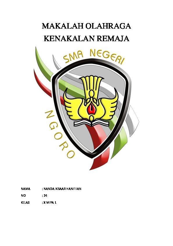 Poster Kenakalan Remaja Bermanfaat Doc Makalah Olahraga Kenakalan Remaja Nanda Ikbar Academia Edu