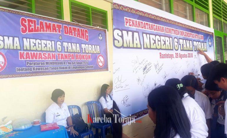Poster Kesehatan Lingkungan Power Sman Rantetayo Jadi Sekolah Percontohan Kawasan Tanpa Rokok Kareba