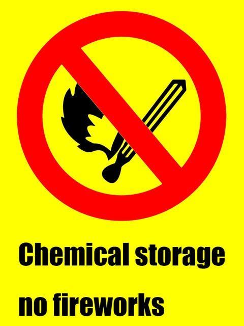 stiker tanda yang hati hati licin lantai peringatan keselamatan anak untuk sekolah mal tempat umum