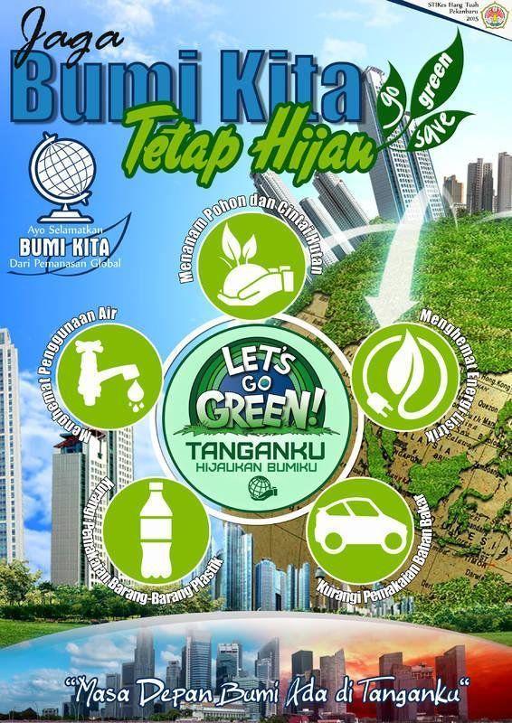 poster menjaga lingkungan