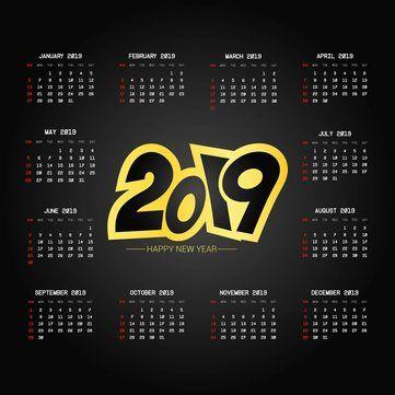 Poster Makanan Menarik Kalender 2019 Mousepad Mat Anti Slip Komputer Pc Desktop Gaming