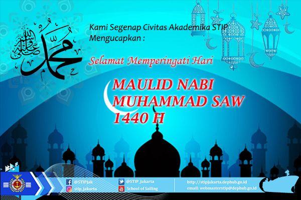 Poster Maulid Nabi Berguna Stip Jakarta