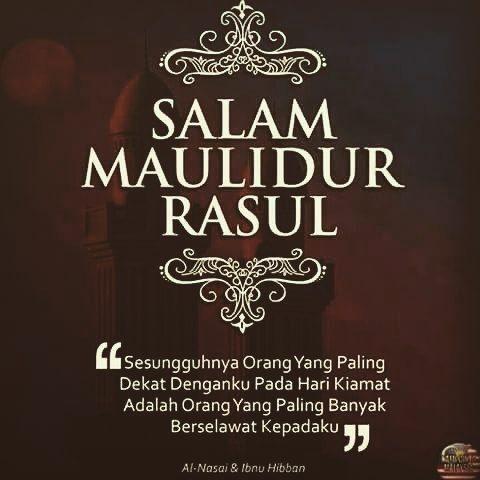 salam maulidur rasul buat semua ummat islam jom berselawat by healthandbeautyparlour