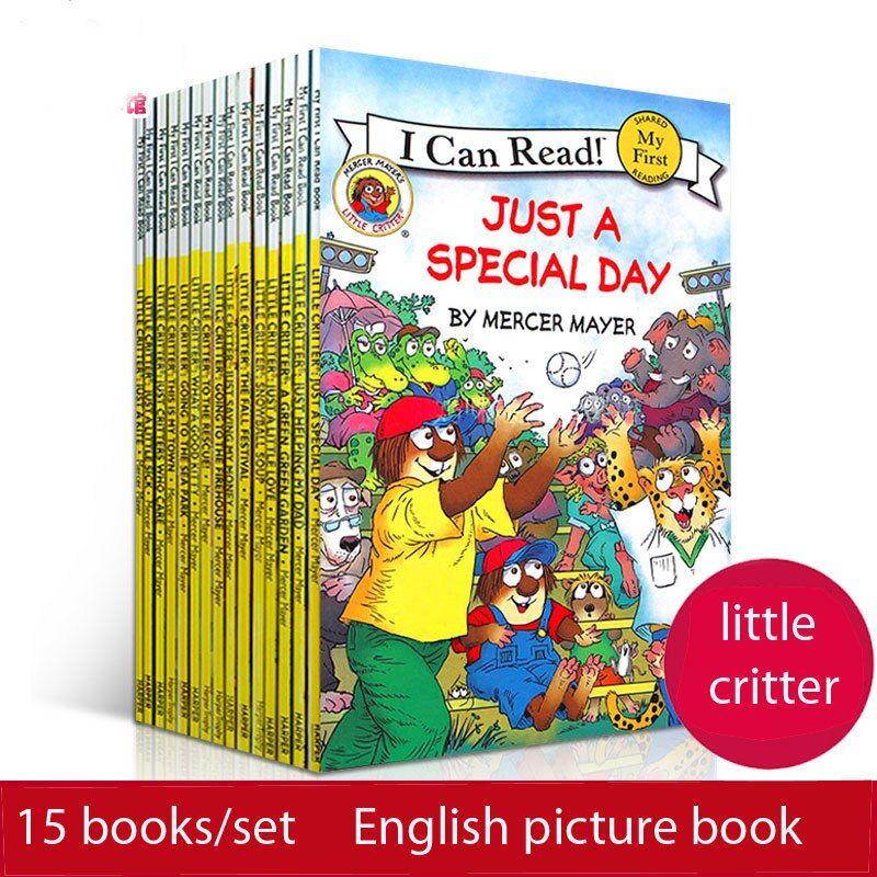 15 buku set saya dapat membaca sedikit makhluk inggris gambar buku cerita anak anak bayi awal pendidikan orangtua anak membaca buku hadiah di buku dari
