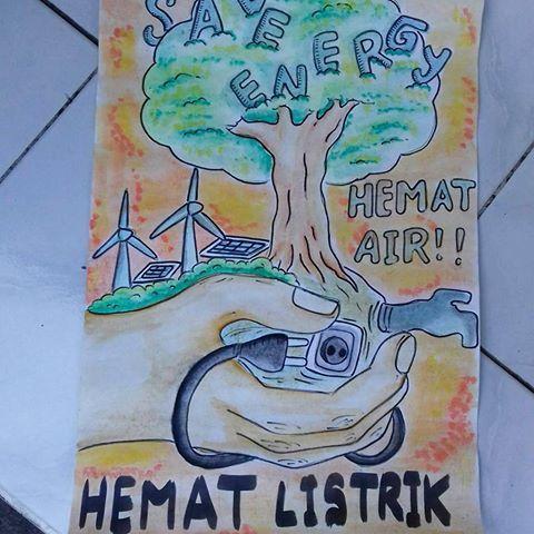 Poster Menghemat Energi Meletup Contoh Poster Hemat Air Suratmenyurat Net