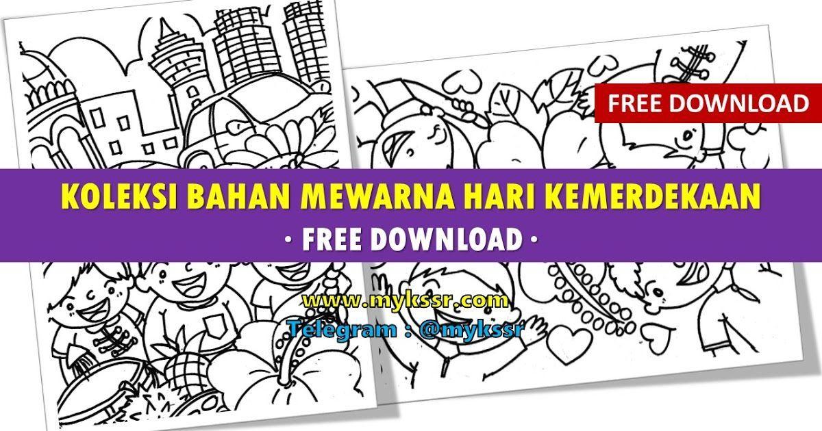 Poster Mewarna Hari Kemerdekaan Baik Himpunan Terbesar Gambar Mewarna Hari Merdeka Yang Terhebat Dan
