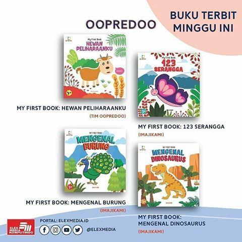 reposted from elexmedia seri my first book dari oopredoo ini bisa menjadi media