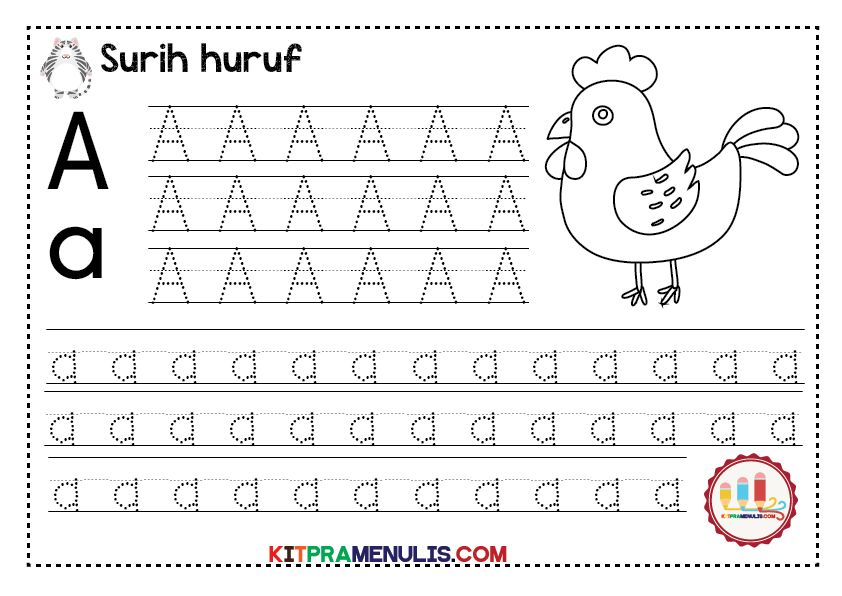 mini worksheet pk surih huruf a hingga z 02 kitpramenulis