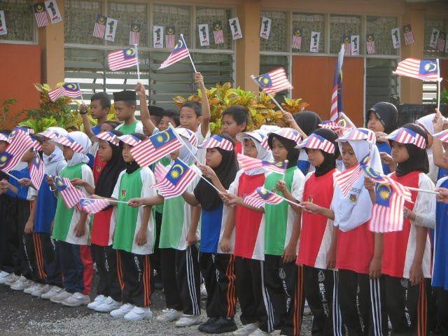 murid murid tahap 1 membuat persembahan nyanyian lagu lagu patriotik i lagu jalur gemilang ii lagu merdeka