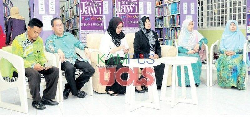 Poster Mewarna Jawi Penting Martabat Tulisan Jawi Kampus