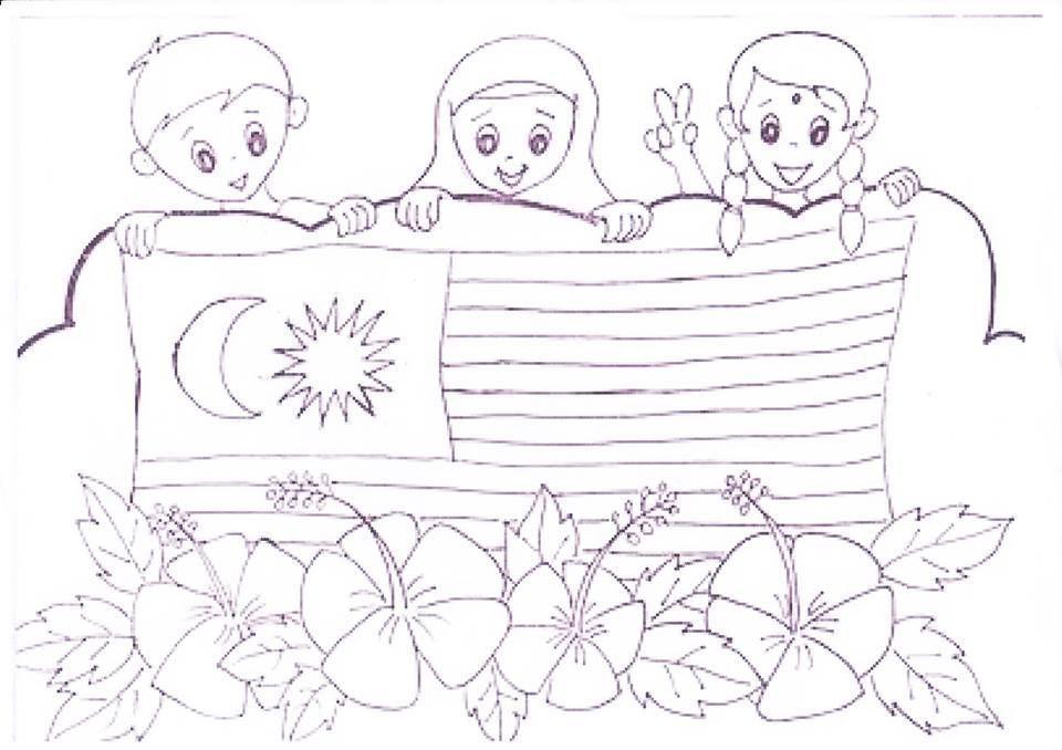 Poster Mewarna Kemerdekaan Meletup Download Cepat Gambar Mewarna Hari Kemerdekaan Yang Hebat Dan Boleh