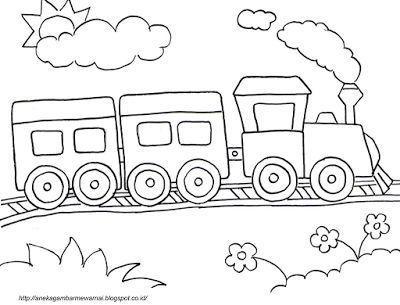 Poster Mewarna Ketupat Hebat Download Cepat Bermacam Contoh Gambar Kereta Untuk Mewarna