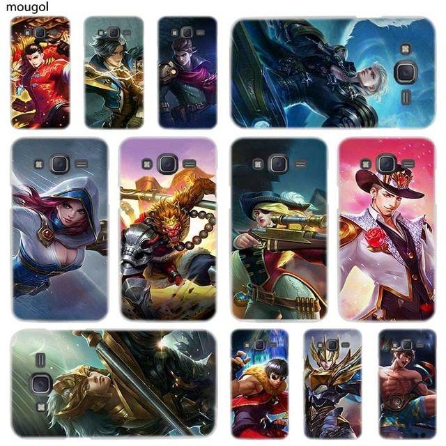 mougol mobile legends hard phone case for samsung galaxy j3 j4 j8 j2 j7 j5 j6