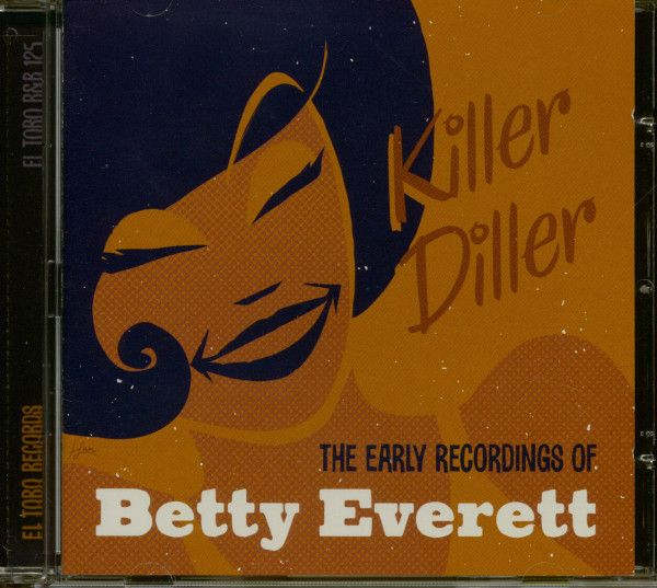 Poster Musik Hebat Betty Everett Cd Killer Diller the Early Recordings Of Betty