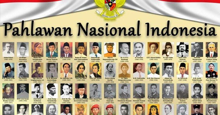 Poster Pahlawan Terhebat Buletin Genda Poster Pahlawan Nasional