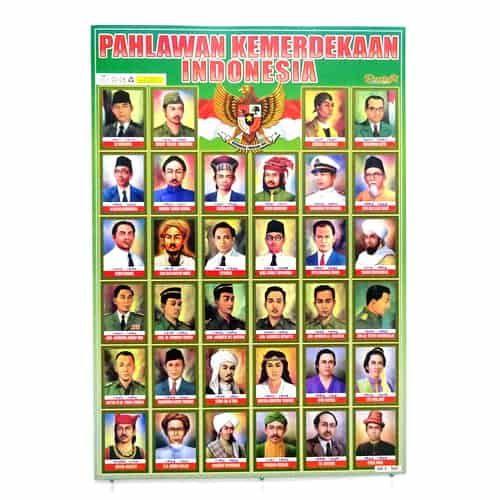 poster pahlawan kemerdekaan indonesia