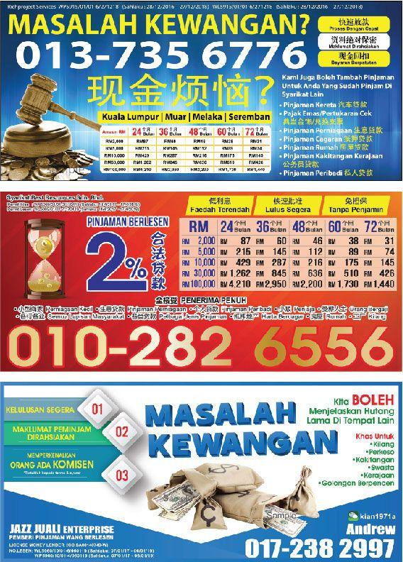Poster Pajak Penting Kajang Apr 2017 City Explorer