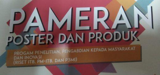 pameran poster dan produk program penelitian peng