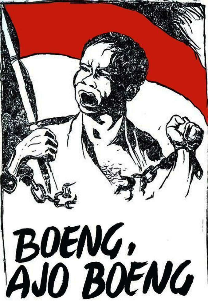 Poster Pameran Seni Rupa Bernilai Desain Grafis Indonesia