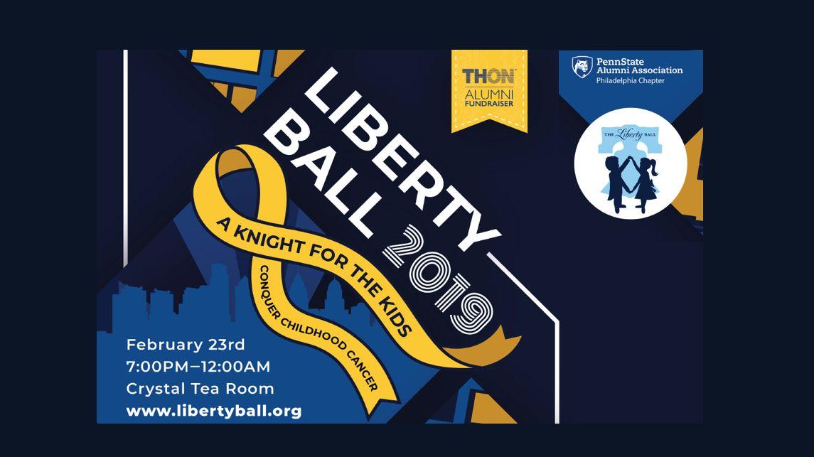 Poster Pariwisata Berguna Liberty Ball