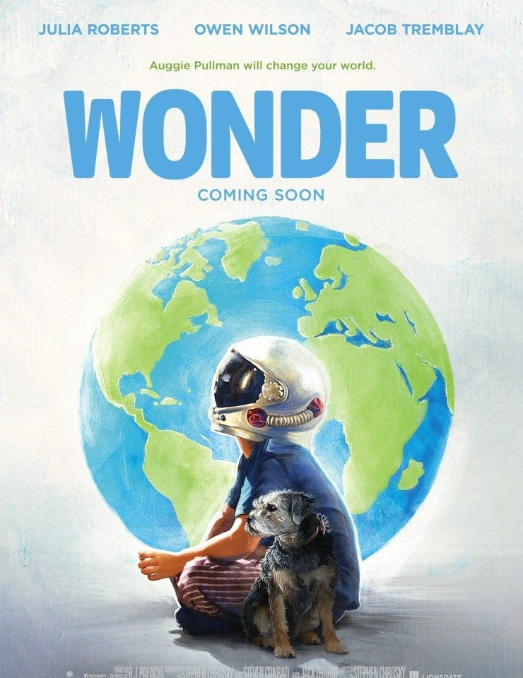 Poster Pas Bernilai Auggie Pullman Will Change Your World In Wonder Posters Uk Trailer