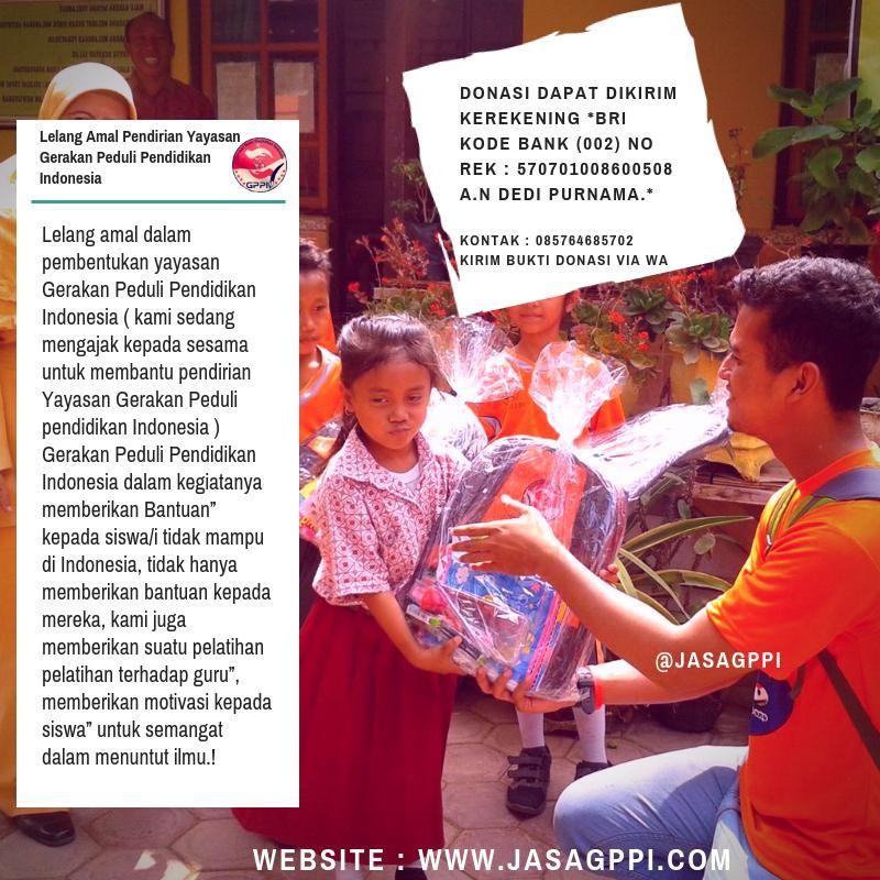 assalamu alaikum kaum muslimin muslimat dan simpatisan gppi gerakan peduli pendidikan indonesia yang allah swt berkahi perkenankan kami menyampaikan