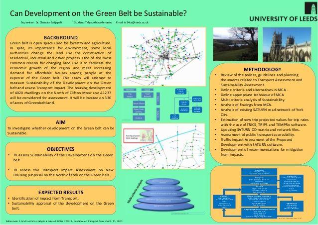 Poster Pelestarian Lingkungan Berguna Masters Dissertation Posters 2015
