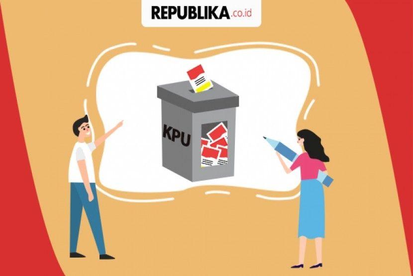 Poster Pemilu Bernilai Kpu Tim Hukum Bekerja Kumpulkan Dokumen Sengketa Pemilu Republika