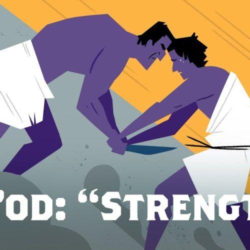 arti kekuatan dalam bahasa ibrani