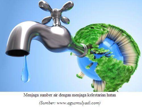 Poster Pencemaran Lingkungan Power Menjaga Air Menjaga Kehidupan Generasi Demi Indonesia Sehat Oleh