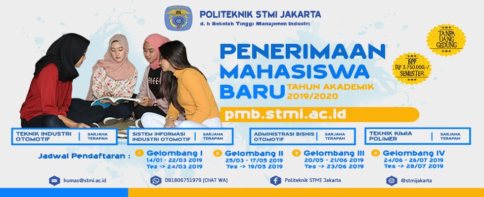 Poster Penerimaan Mahasiswa Baru Power Stmi Ac Id Politeknik Stmi Jakarta