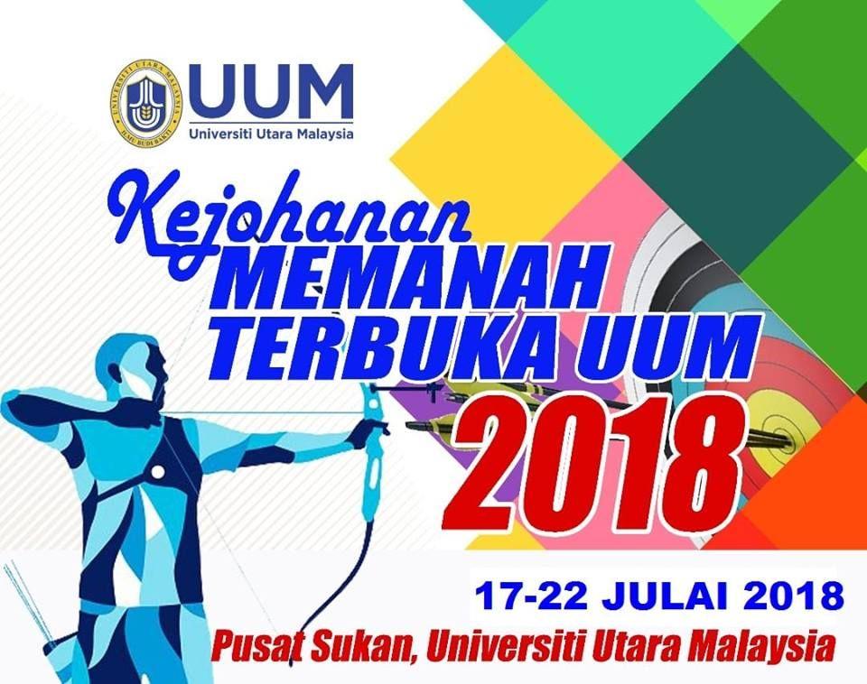 Poster Perpustakaan Bernilai Kejohanan Memanah Terbuka Uum 2018 Beserta Keputusan Selangor