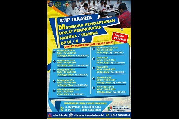 Poster Perpustakaan Meletup Stip Jakarta