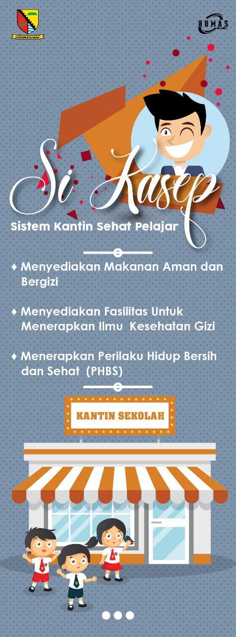 Poster Phbs Bermanfaat Si Kasep Sistem Kantin Sehat Pelajar Pemerintah Kabupaten Bandung