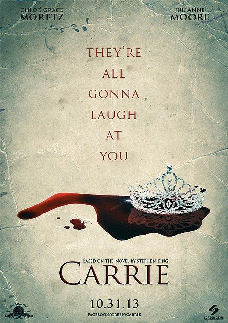 Poster Phbs Menarik Carrie Poster You Will Know Her Name Of Monsters and Little