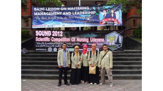 scientific competition of nursing udayana sound 2012 merupakan kegiatan ilmiah berupa perlombaan karya tulis ilmiah essay poster debat bahasa inggris