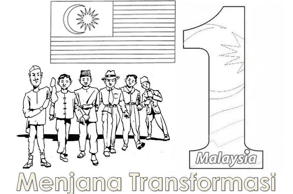 gambar untuk mewarna sehati sejiwa meletup neesah fairy tale pertandingan melukis poster kemerdekaan