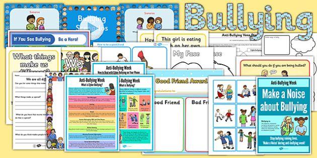 Poster Stop Bullying Bernilai Ks1 Anti Bullying Poem Anti Bullying Friend Friendship Traits