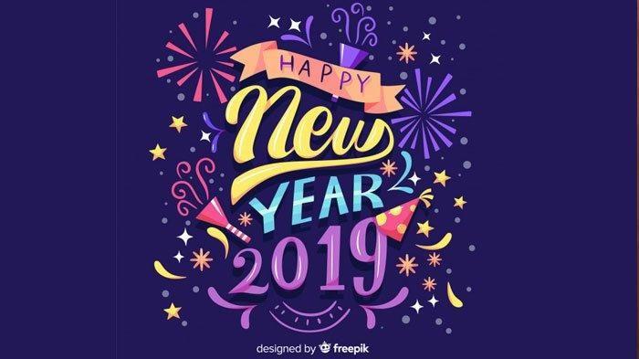 Poster Tahun Baru islam Bernilai Kumpulan Gambar Dan Ucapan Selamat Tahun Baru 2019 Cocok Dibagikan
