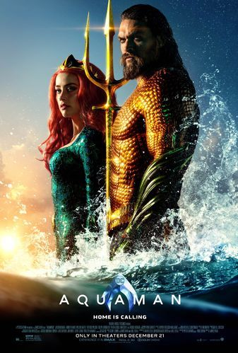 Poster Talkshow Menarik Aquaman Film Warner Bros Entertainment Wiki Fandom Powered by