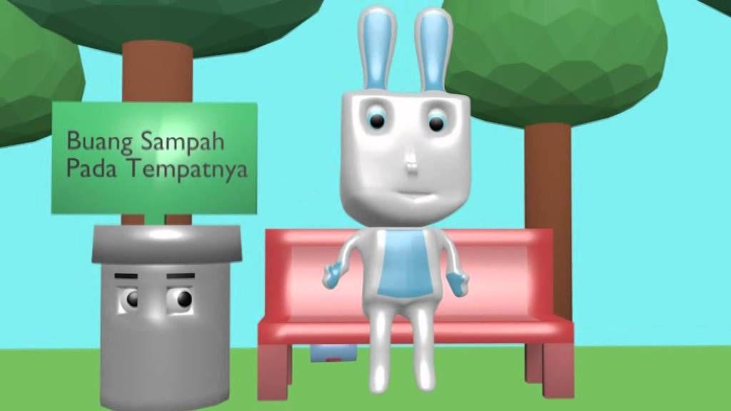 Poster Tentang Lingkungan Buanglah Sampah Pada Tempatnya Hebat 3d Animation Iklan Layanan Masyarakat Buanglah Sampah Pada Tempatnya