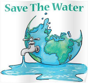 Poster Tentang Lingkungan Hidup Terhebat Save Water Poster In 2019 Products Water Poster Save Water